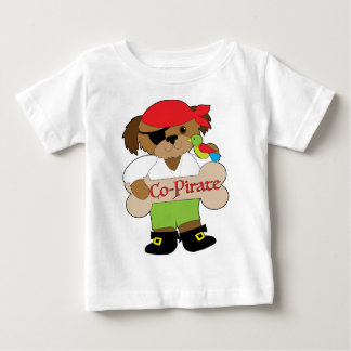 Co-Pirate Dog Baby T-Shirt