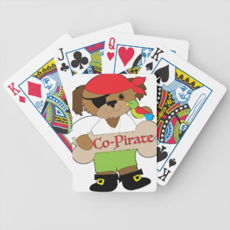 Co-Pirate Dog Bicycle Playing Cards
