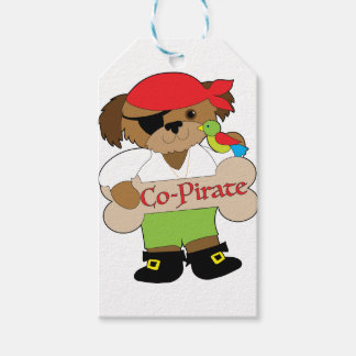 Co-Pirate Dog Gift Tags