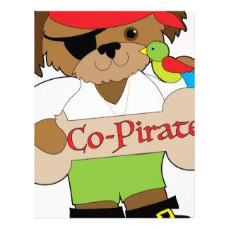 Co-Pirate Dog Letterhead