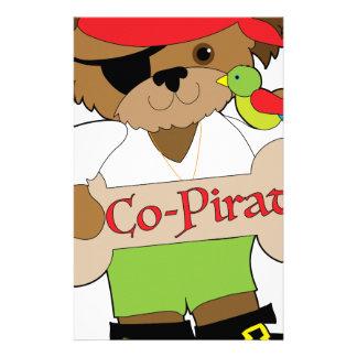 Co-Pirate Dog Stationery