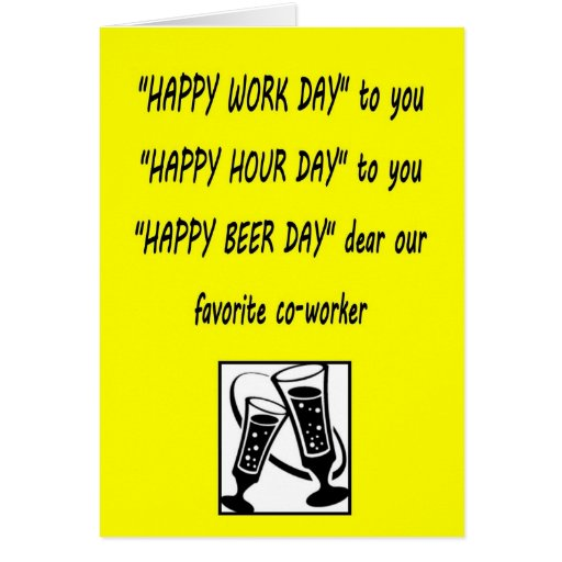 Co worker birthday humor quotes picture gnewsinfo com