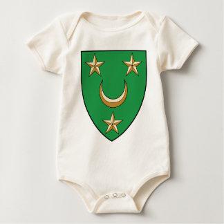 Coa_Algeria_Country_History_(1830-1962) Baby Bodysuit
