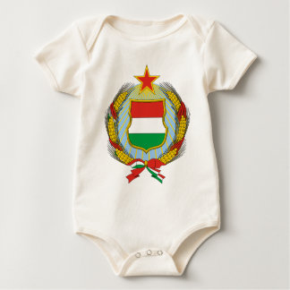 Coa_Hungary_Country_History_(1957-1990) Baby Bodysuit