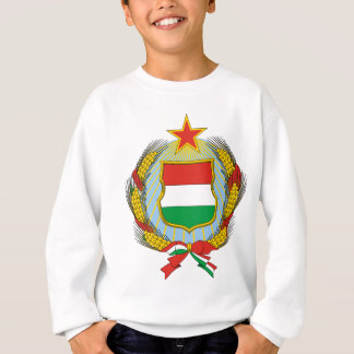 Coa_Hungary_Country_History_(1957-1990) Sweatshirt
