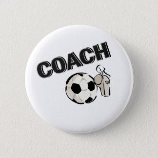 Coach 2 Inch Round Button