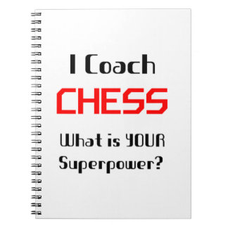 Coach chess notebook