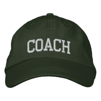 Coach Embroidered Cap Embroidered Hat