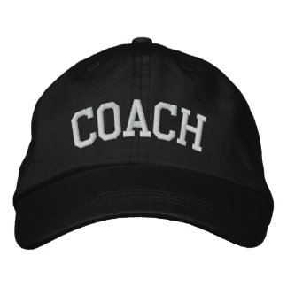 COACH EMBROIDERED HATS