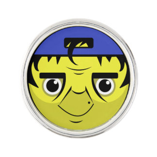 Coach Face Lapel Pin