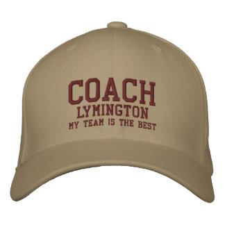 Coach Hat Custom Name V10 Baseball Cap