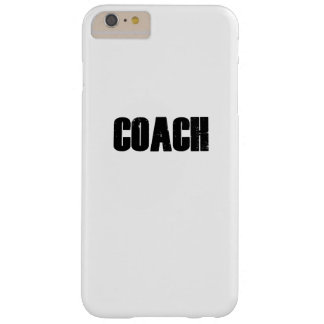 Coach - Men Women Coaches Sport Barely There iPhone 6 Plus Case