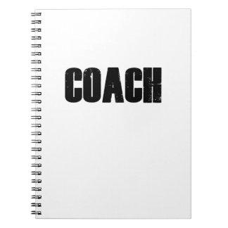 Coach - Men Women Coaches Sport Notebook