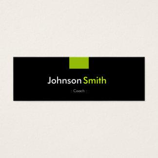 Coach - Mint Green Compact Mini Business Card