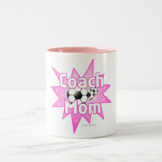 Coach Mom Two-Tone Coffee Mug