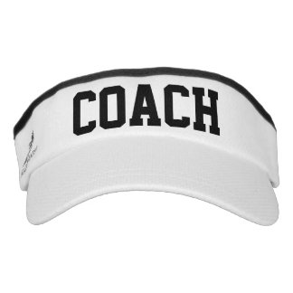 Coach Sport Knit Visor Hat
