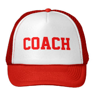 COACH Trucker Hat {Red}