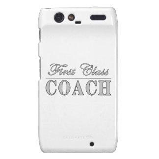 Coaches First Class Coach Droid RAZR Cases