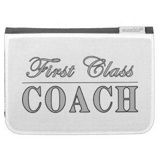 Coaches First Class Coach Kindle Folio Cases