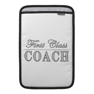 Coaches First Class Coach MacBook Sleeve