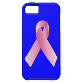 Coaches for a cause_Pink Ribbon Campaign on blue iPhone 5 Cases