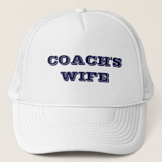 COACH'S WIFE TRUCKER HAT