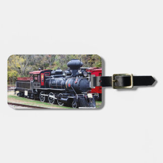 Coal Engine Train Luggage Tag