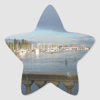 Coal Harbour, BC Star Sticker