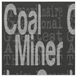 Coal Miner Extraordinaire Fabric