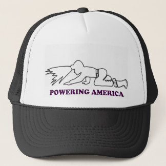 COAL MINER POWERING AMERICA HAT