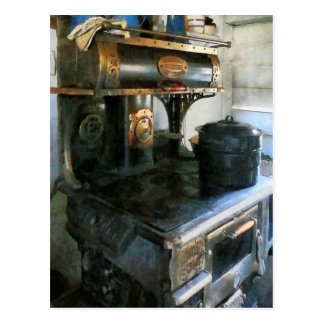 Coal Stove Postcard