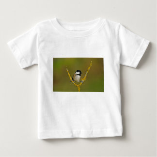 Coal Tit Bird Resting Baby T-Shirt