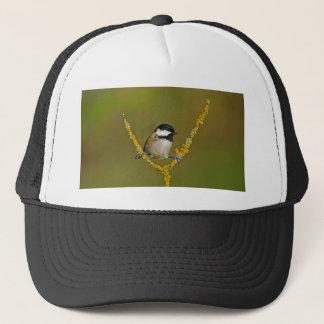 Coal Tit Bird Resting Trucker Hat