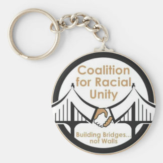 Coalition for Racial Unity Keychain