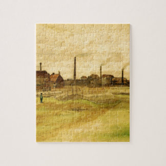 Coalmine in the Borinage by Vincent van Gogh Jigsaw Puzzle