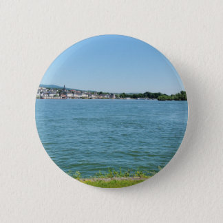 Coarse home on the Rhine 2 Inch Round Button