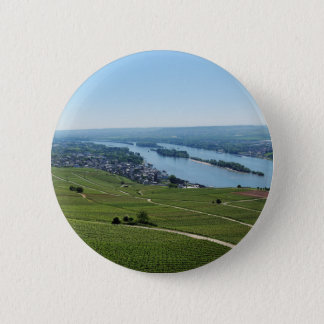 Coarse home on the Rhine 2 Inch Round Button