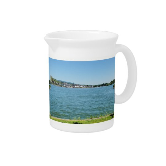 Coarse home on the Rhine Drink Pitchers