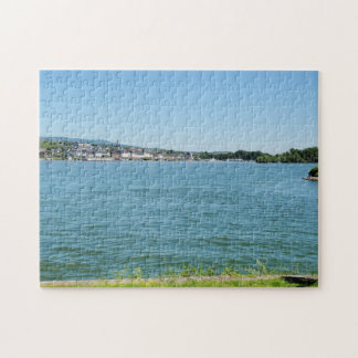 Coarse home on the Rhine Jigsaw Puzzle
