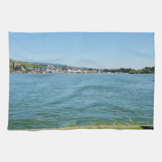 Coarse home on the Rhine Kitchen Towel