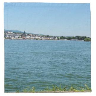 Coarse home on the Rhine Napkin