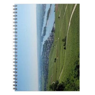 Coarse home on the Rhine Notebook