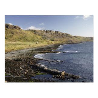 Coast at Duntulm, Isle of Skye, Scotland, United Postcard