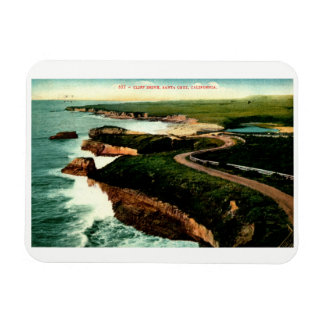 Coast Drive, Santa Cruz, California Vintage Magnet
