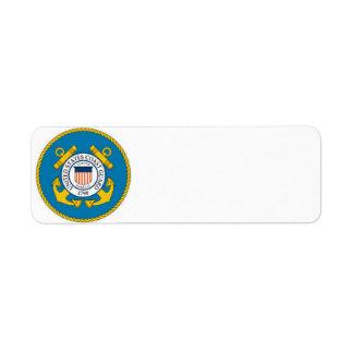coast guard address labels