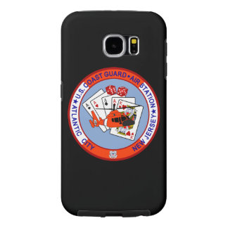 "Coast Guard Air Station Atlantic City ""Black Case"" Samsung Galaxy S6 Cases"