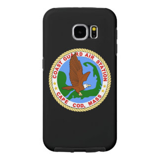 "Coast Guard Air Station Cape Cod ""Black Case"" Samsung Galaxy S6 Cases"