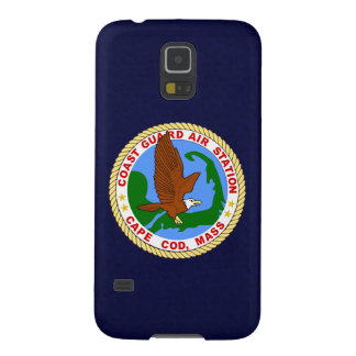 "Coast Guard Air Station Cape Cod  ""Navy Blue"" Galaxy S5 Case"