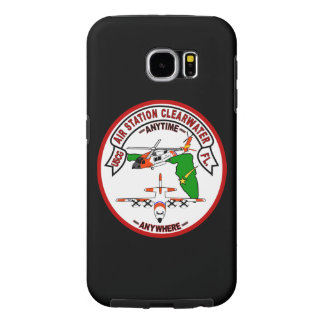 "Coast Guard Air Station Clearwater ""Black Case"" Samsung Galaxy S6 Cases"