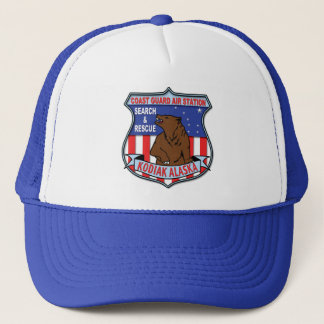 Coast Guard Air Station Kodiak Trucker Hat